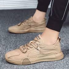 Canvas shoes men 2020 spring nd summer new trend ice silk ... - Vova