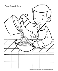 Small Picture Christmas Cookies Coloring Pages Christmas Cookies and Popcorn