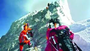 Risultati immagini per নেপাল ছেড়ে চীনের পথে এভারেস্ট আরোহীরা