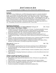 entry level administrative assistant resume sample cipanewsletter objective administrative assistant entry level administrative