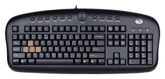 <b>Клавиатура проводная A4Tech</b> KB-28G-1 Black USB купить по ...