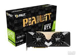 <b>Видеокарта Palit PCI-E PA-RTX2080Ti</b> DUAL 11G nVidia GeForce ...