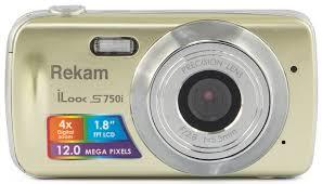 Купить Цифровой <b>фотоаппарат Rekam iLook S750i</b> золотистый в ...