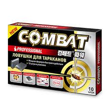 <b>Ловушки для тараканов Combat</b> Super Bait Инсектицид 10 шт 1уп ...