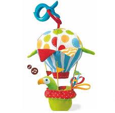 """Yookidoo игрушка мягкая музыкальная """"Попугай на <b>воздушном</b> ..."""