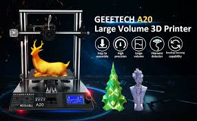 <b>GEEETECH</b> Upgraded A20 <b>3D</b> Printer, Integrated Metal Building ...