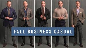 5 Stylish Business Casual Outfits For Fall | <b>Men's Smart Casual</b> Outfit ...
