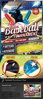 baseball tour nt flyer template by stormdesigns graphicriver baseball tour nt flyer template sports events