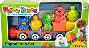 <b>Конструктор K</b>`<b>S Kids</b> Мягкий конструктор Поезд друзей купить в ...
