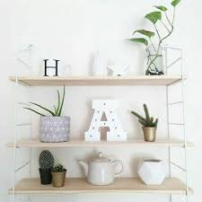 Kids Wall Shelf 3pcs <b>Wooden</b> Metal <b>Board Nordic Style</b> ...