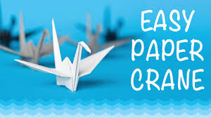 How To Make a Paper Crane: <b>Origami</b> Step by Step - Easy - YouTube