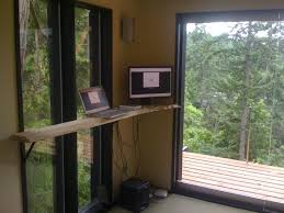 tiny house as queit home office beautiful home office view