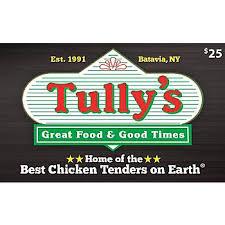 $25 Tully's Good Times Restaurant Gift Card, 2 pk. - BJs WholeSale ...
