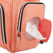 insular multifunctional waterproof nappy backpacks nylon mummy bag newborn baby diaper shoulder travel