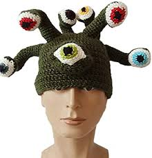 XWWS Knit Hat Octopus Eye Peas Natette Beard ... - Amazon.com