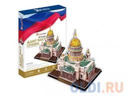Пазл 3D <b>CubicFun Исаакиевский собор</b> (Россия) 105 элементов ...