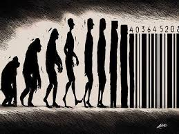 funny cartoons to prove evolution has a twisted sense of humor barcode humans