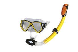 <b>Набор для плавания</b>: маска с трубкой <b>INTEX</b> 55960 — купить в ...