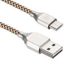 <b>Аксессуар ACD Titan Type C</b> USB A 1 0m Yellow Black ACD U927 ...