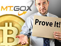 Mt. Gox Prove it
