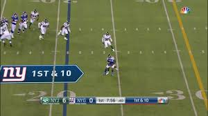Daniel <b>Jones</b> delivers first completion under heavy pass rush