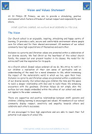 our mission statement and aims st philips cofe controlled our mission statement and aims
