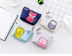 <b>XZP</b> Cat Coin Purses Wallets <b>Small Cute</b> Cartoon Animal Owl Cat ...