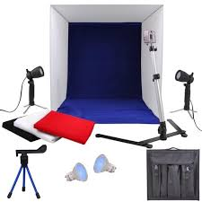 "New 100w <b>Photo Studio</b> 16"" Photography Lighting Tent Kit Backdrop ..."
