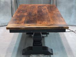 s pine trestle dining table