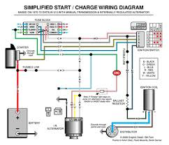 automotive wiring schematics images basic car engine wiring start generator wiring diagram get image about