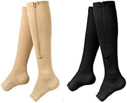 Compression Stockings with Zipper - Amazon.com