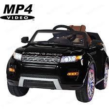 Электромобиль Hollicy Range Rover <b>Luxury</b> Black MP4 12V ...