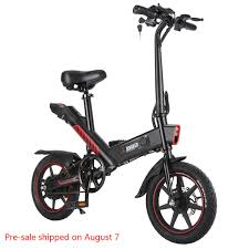 €384 with coupon for <b>DOHIKER</b> Y1 Folding <b>Electric</b> Bicycle 350W ...