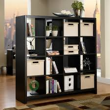 futuristic and awesome furniture bookcase room divider styles elegant modern wooden black square awesome divider office room