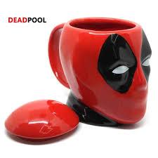 Новая креативная <b>кружка DEADPOOL</b>, <b>3d</b> кружка для кофе и ...