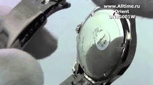 Мужские японские наручные <b>часы Orient UN8G001W</b> - YouTube