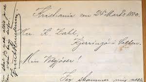 Fant 125 år gamle ukjente <b>Hamsun</b>-brev – NRK Nordland – Lokale ...