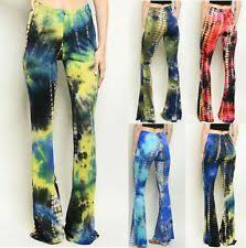 Blue Flare Gypsy Pants for Women for sale   eBay