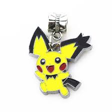 20pcs/<b>lot</b> Pokemon Go Pikachu charms <b>hanging</b> big hole <b>pendant</b> ...
