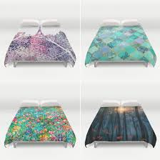 artistic duvet covers made on demand at society