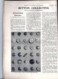 hobbies magazine 1965 repository of useful knowledge check out for example this article on button collecting below i collected some of these like the heinz pickle pins and advertising pinbacks as a kid