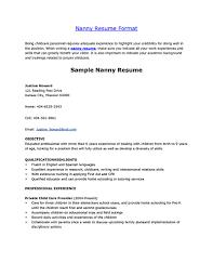 babysitting resume format babysitting nanny job description nanny    nanny