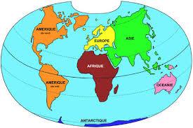 Résultats de recherche d'images pour «5 continents dessin»