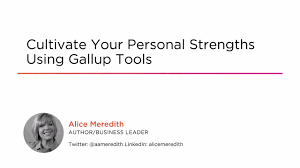 course preview cultivate your personal strengths using gallup course preview cultivate your personal strengths using gallup tools