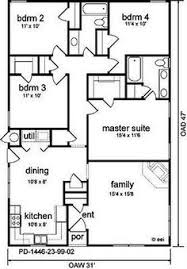 images about Floor Plans With  s That Interest Me on       images about Floor Plans With  s That Interest Me on Pinterest   House plans  Floor plans and Square feet