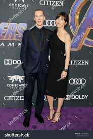 Benedict Cumberbatch and Sophie Hunter at the <b>World premiere</b> of ...