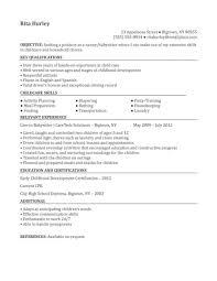 babysitter objective resume sample babysitting resume examples babysitting resume samples nanny resume sample nanny resume sample babysitter job resume sample babysitter objective resume