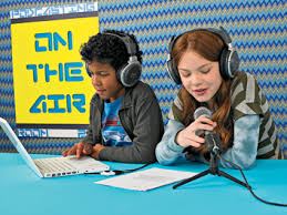 children podcasting
