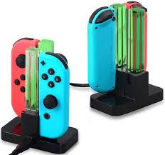 <b>Зарядная</b> станция <b>Dobe N</b>-<b>Switch</b> для 4-х Joy-Con TNS-875 купить ...
