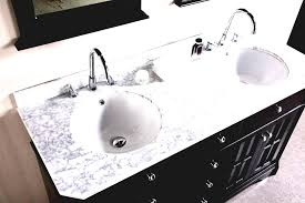 Bright And Modern Double Sink Vanity Top Lovely Bathroom Only Tops Undermount